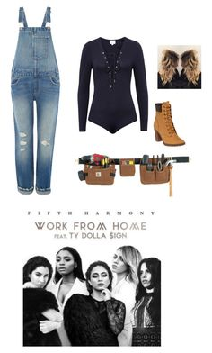 """""""We Could Work From Home"""" by directioner-af-daily ❤ liked on Polyvore featuring Levi's, Carhartt, Timberland, 5H and workfromhome"""