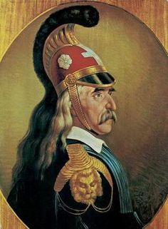 Wikipedia -Theodoros Kolokotronis. 1770-1843 Greek Warrior, Horror Movies, Greece, History, Artwork, Painting, The Secret, Horror Films, Greece Country