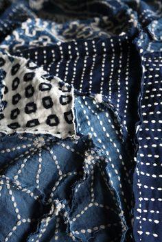 SASHIKO patchwork http://obamychiko.blog109.fc2.com…