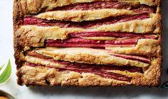 Rhubarb-Almond Cake Recipe