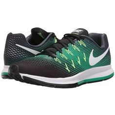Nike Air Zoom Pegasus 33 (Armory Navy/White/Black/Stadium Green) Men's... ($110) ❤ liked on Polyvore featuring men's fashion, men's shoes, men's athletic shoes, nike mens athletic shoes, mens white and black dress shoes, mens running shoes, mens lace up shoes and black white mens dress shoes
