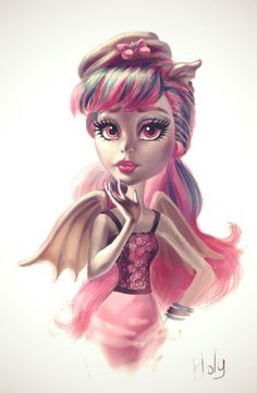 Rochelle Goyle. Scaris City of Frights by Holivi