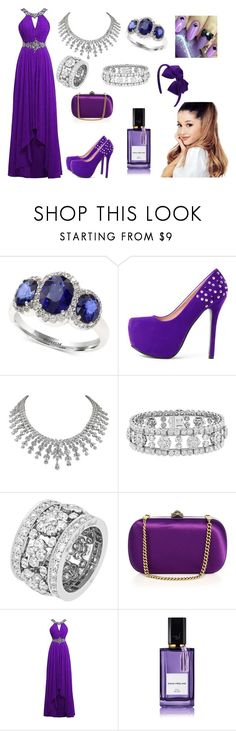 """""""BEING ME"""" by model06 on Polyvore featuring Effy Jewelry, Van Cleef & Arpels, Gucci and Diana Vreeland"""