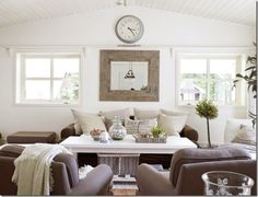 case e interni - casa Norvegia - Scandinavia - shabby chic - bianco (1) a