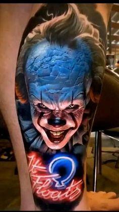 Uv Ink Tattoos, 3d Tattoos For Men, Best 3d Tattoos, Evil Tattoos, Best Sleeve Tattoos, Badass Tattoos, Body Art Tattoos, Hand Tattoos, Glow Tattoo