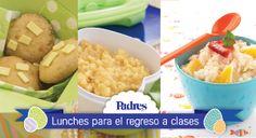 Ideas suculentas para el lunch de los niños