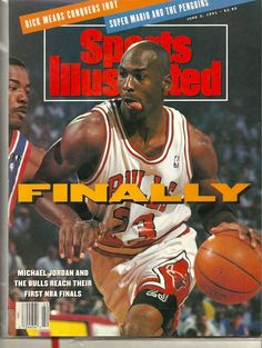 "SOLD - June 3, 1991 MICHAEL JORDAN Sports Illustrated Chicago Bulls "" FINALLY """