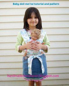 Free doll mei tai carrier!: