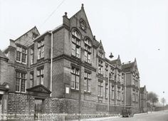 Hogarth School, Carlton Road, Nottingham, 1954 my old school