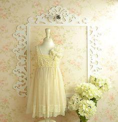 Vintage Lace Flower Girl Dresses