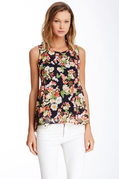 Mimi Chica Babydoll Back Tank (Juniors) by Mimi Chica on @nordstrom_rack