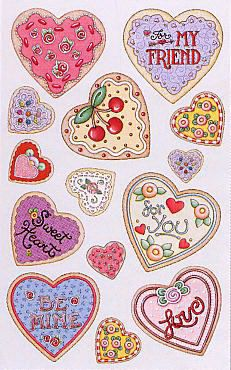 Mary Engelbreit Hearts Stickers -- ©Mary Engelbreit