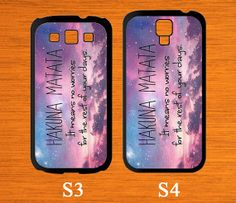 Samsung Galaxy S5 case HAKUNA MATATA King of lion by CaseGift, $6.99