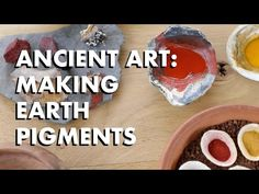WoodlandsTV went to the 2019 bushcraft show to see some of the amazing woodland craft that goes on around the world. Here Caroline Nicolay guides you through. Homemade Paint, Traditional Paint, Earth Pigments, Art History, History Major, History Memes, History Facts, Nature Crafts, Nature Paintings