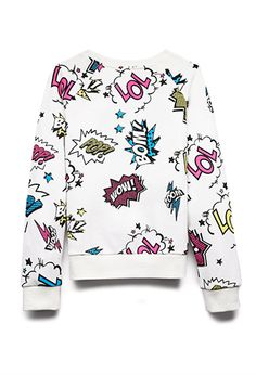 LOL Comic Sweatshirt (Kids) | FOREVER 21 - 2000128525