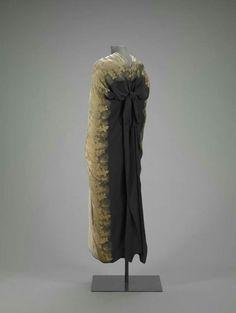 Coco Chanel , evening cape 1927