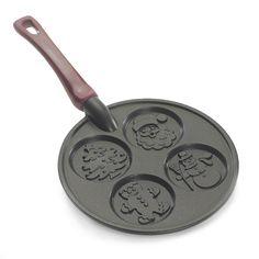 Amazon.com: Nordic Ware Christmas Morning Pancake Pan: Griddles: Kitchen & Dining