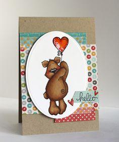 Alice's {Little} Wonderland: Benton Bear