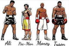 Which other boxer deserves to be up there with the 4 icons of boxing 👇👇 Mike Tyson, Lucha Mma, Kickboxing, Jiu Jitsu, Ufc, Fitness Workouts, Boxe Fight, Combat Boxe, Mixed Martial Arts