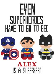 No88 Personalized Superheroes PDF Cross Stitch Pattern   This is a digital item. The PDF file of the pattern will be available for instant download once payment is confirmed.  XXXXXXXXX  ● Fabric: Aida 14 count ● Grid Size: 126w x 164h Stitches ● Design Area: 9.00 x 11.71 inches or 22.86 x 29.75 cm ● DMC Colors: 11   XXXXXXXXX   BUY 2 GET 1 FREE!! JUST PUT 3 PATTERNS IN YOUR CART AND USE CODE : COUPON  BUY 3 GET 2 FREE!! JUST PUT 5 PATTERNS IN YOUR CART AND USE CODE : BUY3GET2FREE  BUY 5 GET…