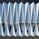 Gallery of Qingdao Cruise Terminal / CCDI - Mozhao Studio & Jing Studio - 3 Factory Architecture, Roof Architecture, Facade Design, Roof Design, Green Roof System, Modern Roofing, Roofing Systems, Roof Light, Qingdao