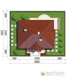 Dom w lotosach 2 Picnic Blanket, Outdoor Blanket, Bungalow House Design, Roof Plan, Roof Design, Case, House Plans, Floor Plans, Flooring
