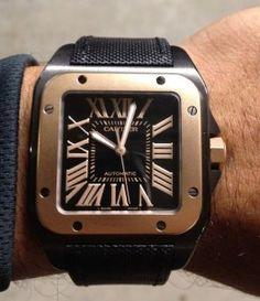 Cartier Santos 100 Ref. W2020009 Watch Review Watch Releases