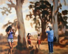 Tom Alberts, Sunset Blur 2012 Oil on linen, 81 x cm © Tom Alberts 2012 Heiser Gallery, Fortitude Valley, Australia Blur, Toms, The Past, Art Gallery, Australia, Sunset, Couple Photos, Pictures, Art Museum