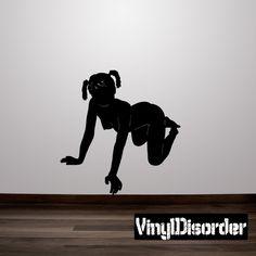 Stripper Wall Decal - Vinyl Decal - Car Decal - 109