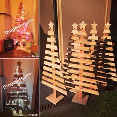 arbol navidad madera rustico vintage diseño