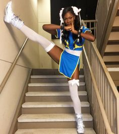 Character: Chun Li | Cosplayer: Amber Cardi | Series: Street Fighter