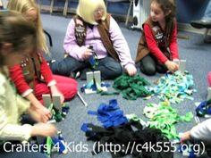 Scrap Fleece Dog Toys – Great Kids Craft