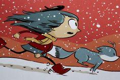 Hilda y el Trol. Primer título de esta saga de aventuras con inspiración nórdica, donde la protagonista se encontrará con increíbles seres como gigantes, hombres de madera y trols. Barbara Fiore Editora