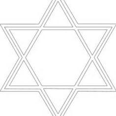 Star of David Pattern Printable