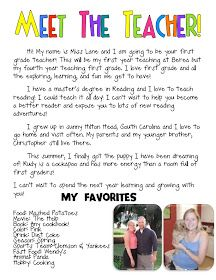 Freebie Editable Welcome Letter  Teach    School