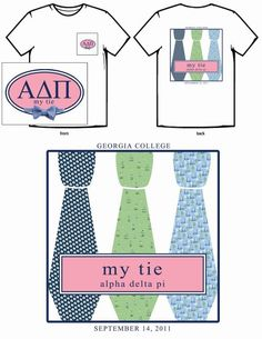 Vineyard Vines inspired My Tie t-shirt.