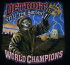 For Sale - Vtg 2004 DETROIT PISTONS NBA CHAMPIONS T-Shirt M Black - See More At http://sprtz.us/PistonsEBay