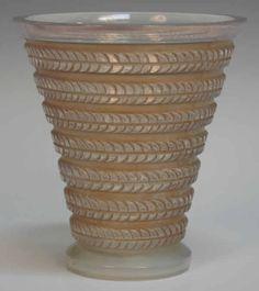 1095 R. Lalique Vase Cytise