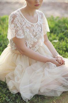 Romantic Tulle & lace