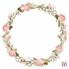 Flower Wallpaper, Iphone Wallpaper, Eid Mubarak Stickers, Eid Crafts, Flower Clipart, Color Psychology, Frame Wreath, Arte Floral, Wedding Frames