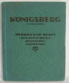 altes Buch / Heft - Königsberg in Preussen - 1924