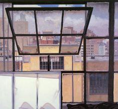 John Moore - Window, 2011, oil on linen