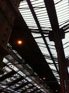 Gare de Lyon Iron structure in Paris