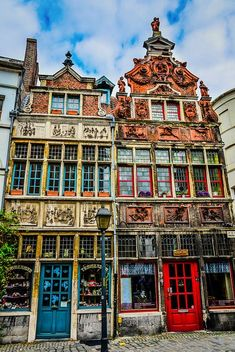 Belgian Buildings in Ghent Belgium | #Belgium #travel