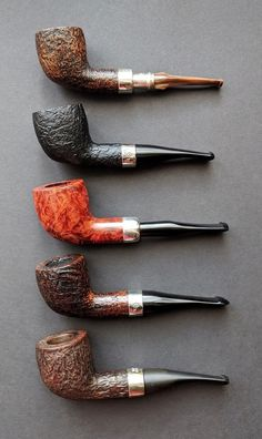 5 pretty Peterson pipes: B23 shape