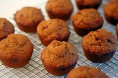 Pumpkin Muffins Recipe  - 1 18oz box of spice cake mix  - 1 15oz can of pure pumpkin  - ½ cup applesauce  - ¼ tsp pumpkin pie spice    Directions:  Mix all ingredients together until smooth. Spoon into muffin tins, either lightly sprayed or lined with muffin cups. You'll use about 1/4 cup of batter per cup. Bake as directed on cake box.