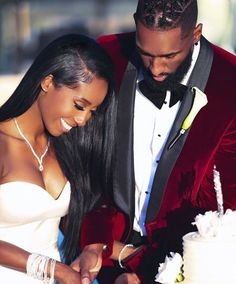 Read 4 -couple- from the story IG : PostBad (noire) by with reads. Black Love Couples, Cute Couples, Black People Weddings, Wedding Couples, Wedding Photos, Party Photos, Black Marriage, African American Weddings, Black Bride