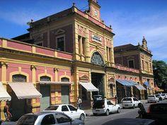Mercado Municipal de Manaus Adolfo Lisboa.