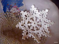 ИДЕЯ!! Christmas Decoration Crochet Snowflake Pattern by LyubavaCrochet