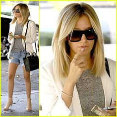 ashley tisdale short hair 2014 -
